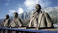 Rudolf Herz: Lenin on Tour. Meinen Zeitgenossen zeige ich Lenin. Und Lenin das 21. Jahrhundert. Wer erklärt es ihm? Fotografien Irena Wunsch und Reinhard Matz, 31.10.2009-07.03.2010